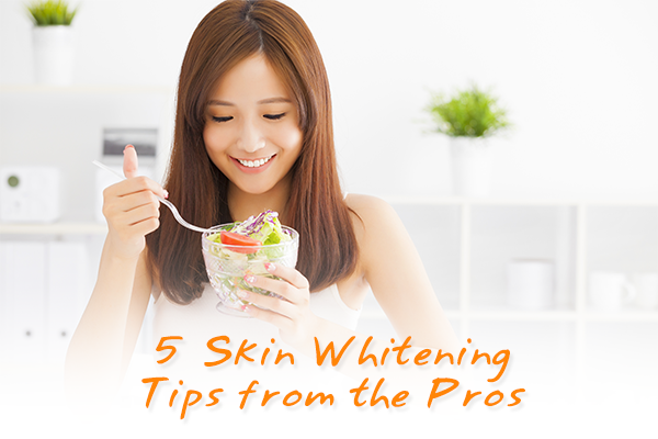 5 Skin Whitening Tips from the Pros